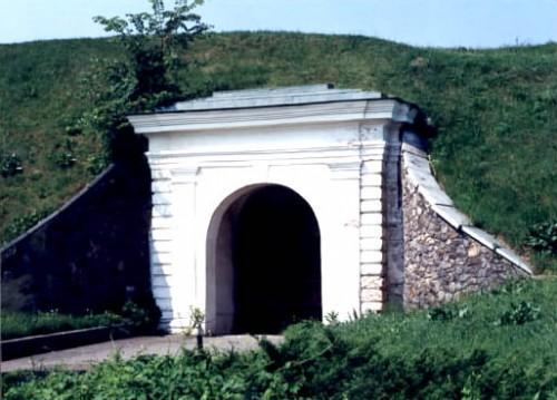 Московские ворота. Вид изнутри крепости