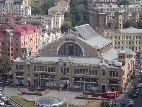 Бессарабский рынок, наши дни