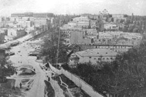 Киев. Старая Бесарабка.
