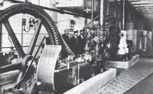 холодильная установка Бессарабского рынка. Фото 1912 г.