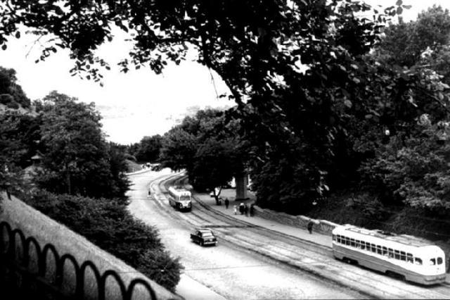Владимирский спуск, конец 1950-х годов
